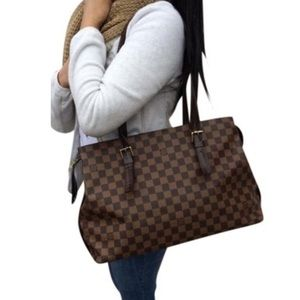 100% Authentic Louis Vuitton Damier Ebene Chelsea